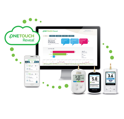 OneTouch Reveal® mobile and web apps